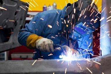 Philadelphia Trade School welding hands on training