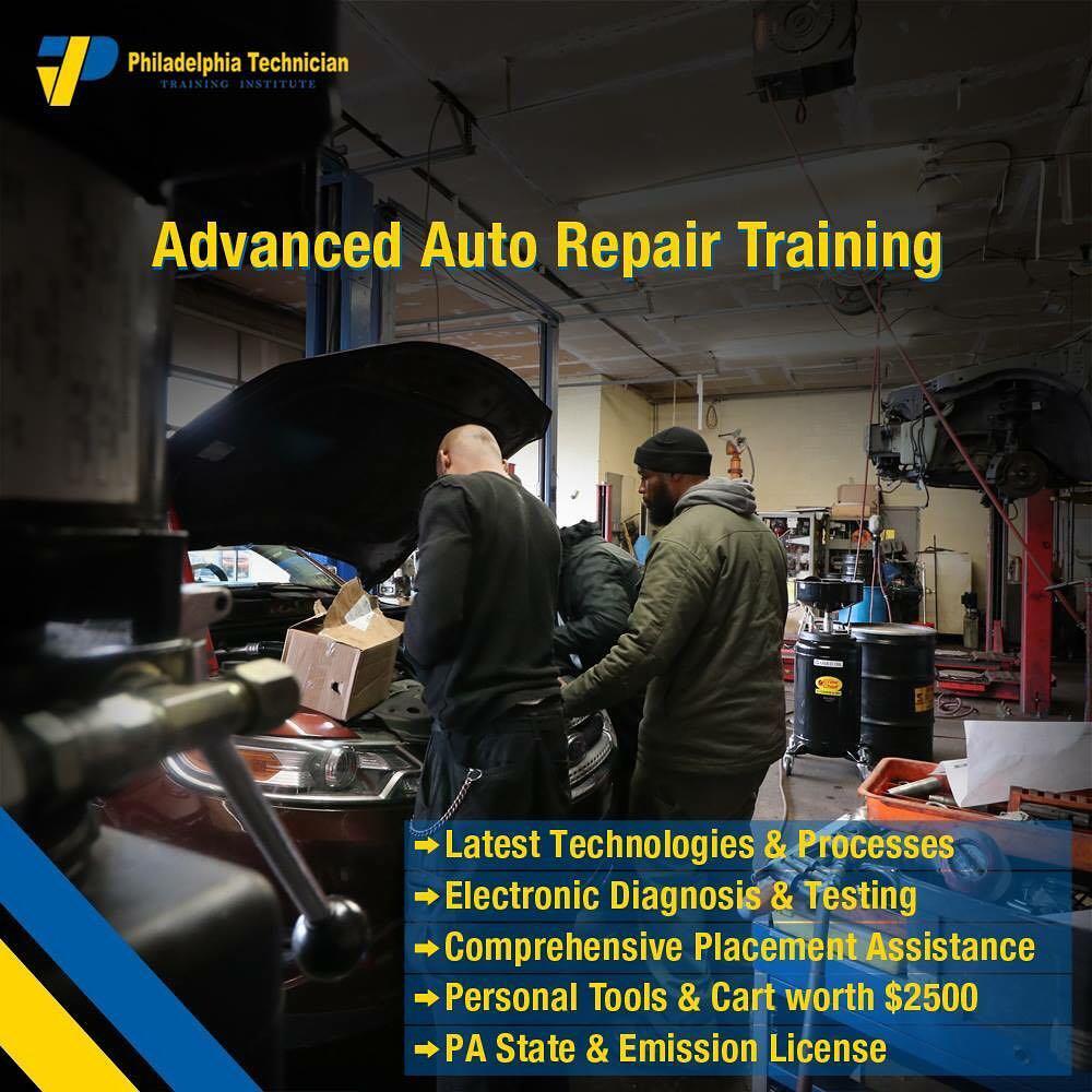 Philadelphia Trade school Automotive Repair Technician Program