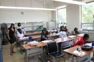 PTTI has ventilated classrooms for our students