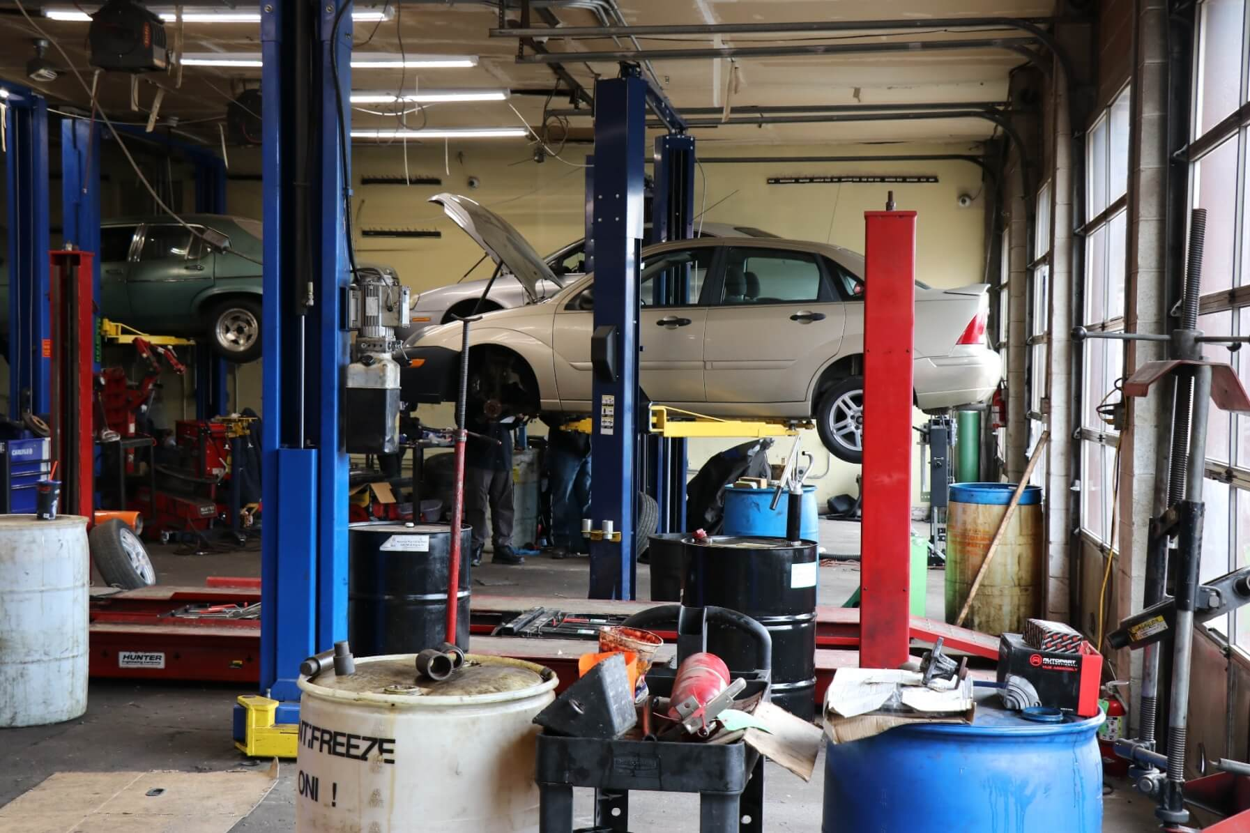 PTTI has a separate campus for Automotive Repair for better accessibility