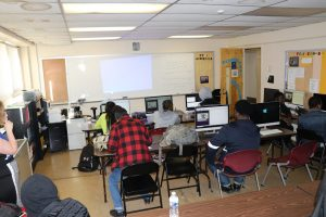 Well Equipped Computer Lab & Internet presentation training center