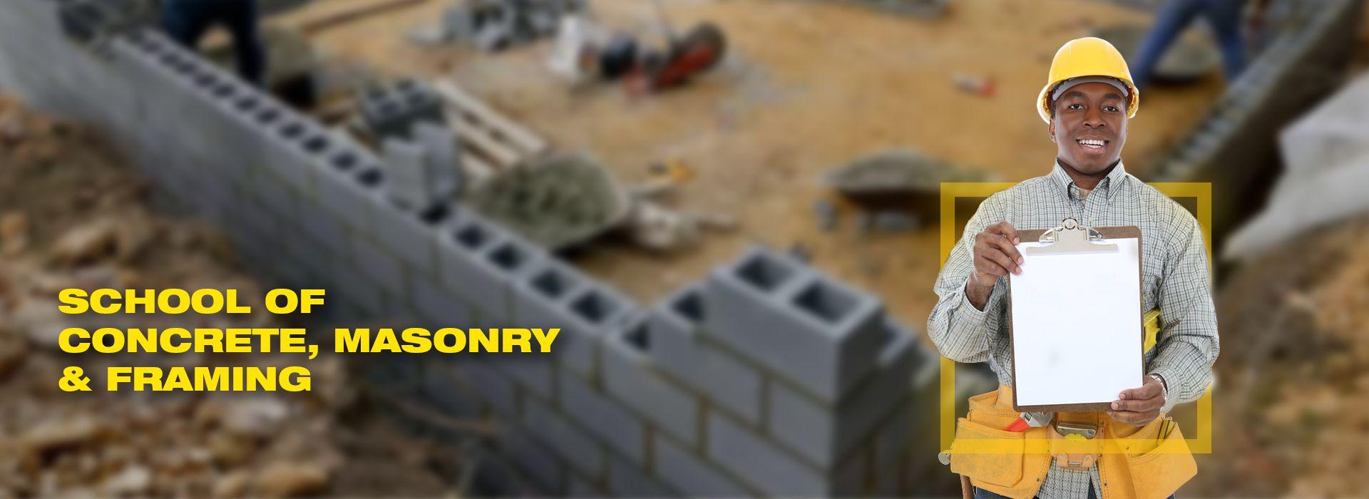 Philadelphia Trade school Concrete, Framing and Masonry Program