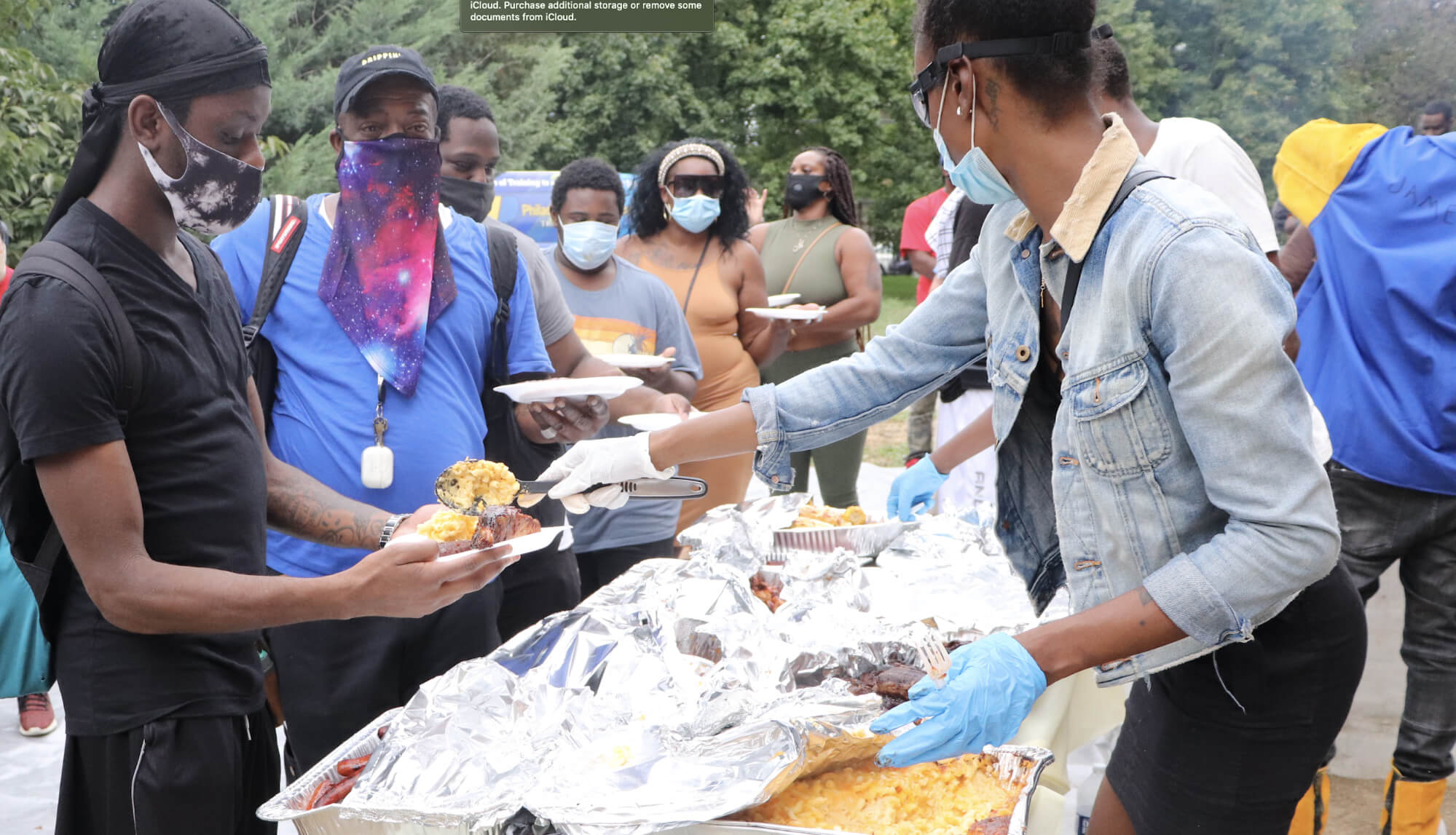 Food Distribution by students in Philadelphia