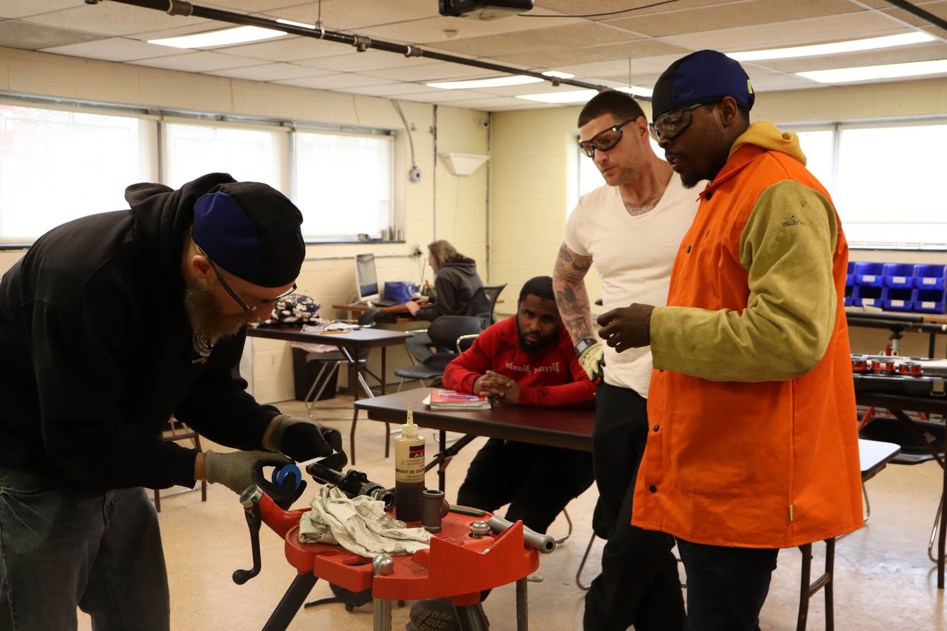 Plumbing and PipeFitter Faculty at Trade School in Philadelphia