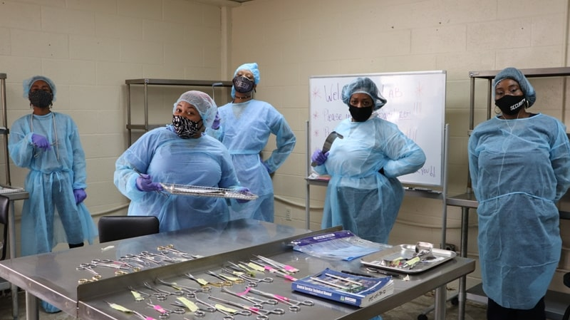 Become Sterile and Central Processing Technician