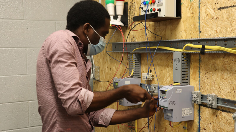 Training for Manufacturing Automation Electrician in Philadelphia at Philadelphia Technician Training Institute.