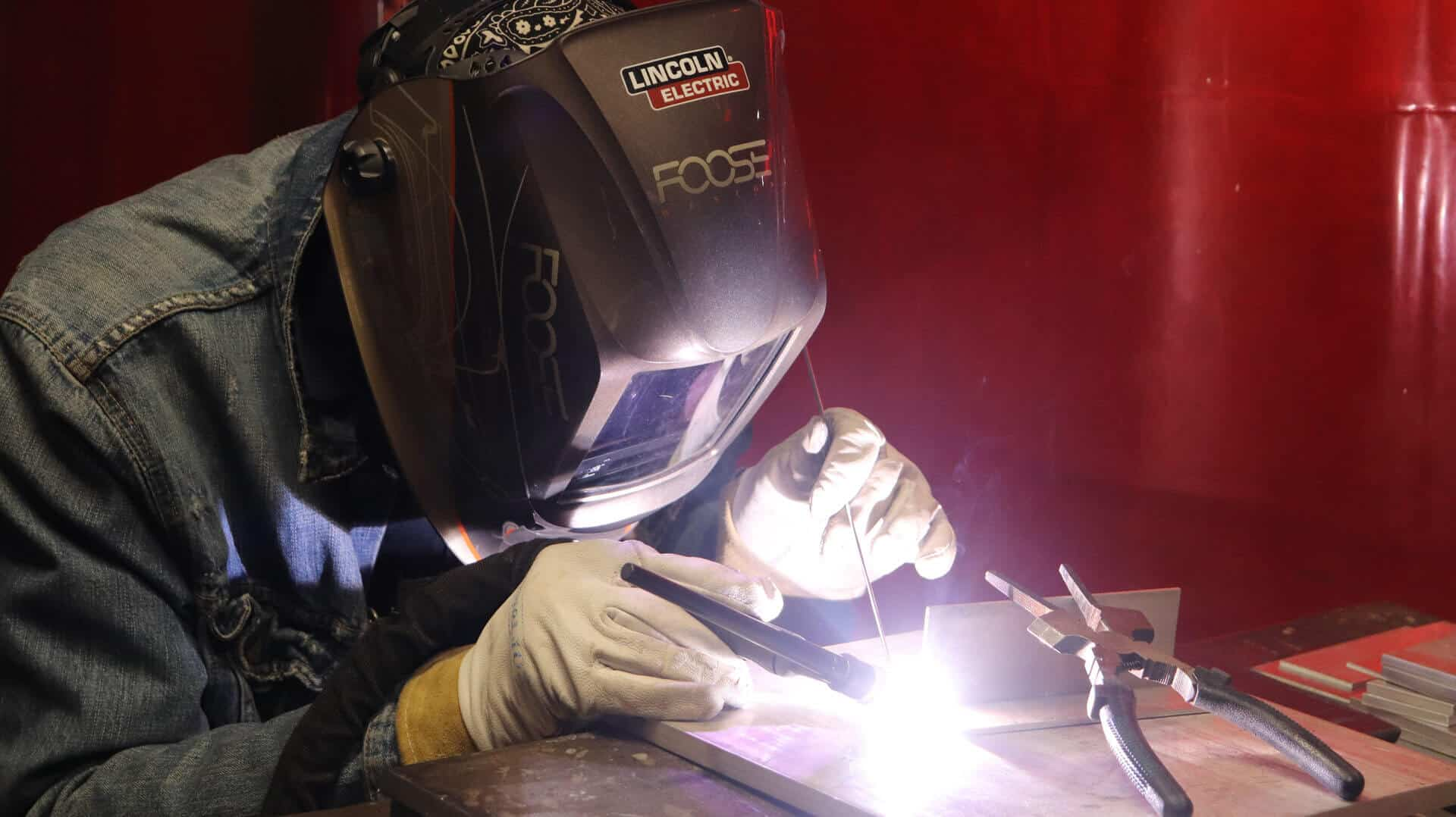 welding is one of the highest paying skilled trades