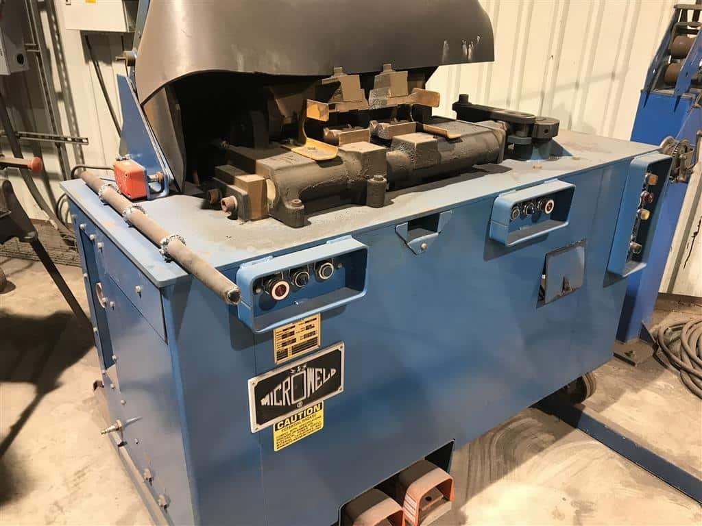 Micro weld flash welder machine