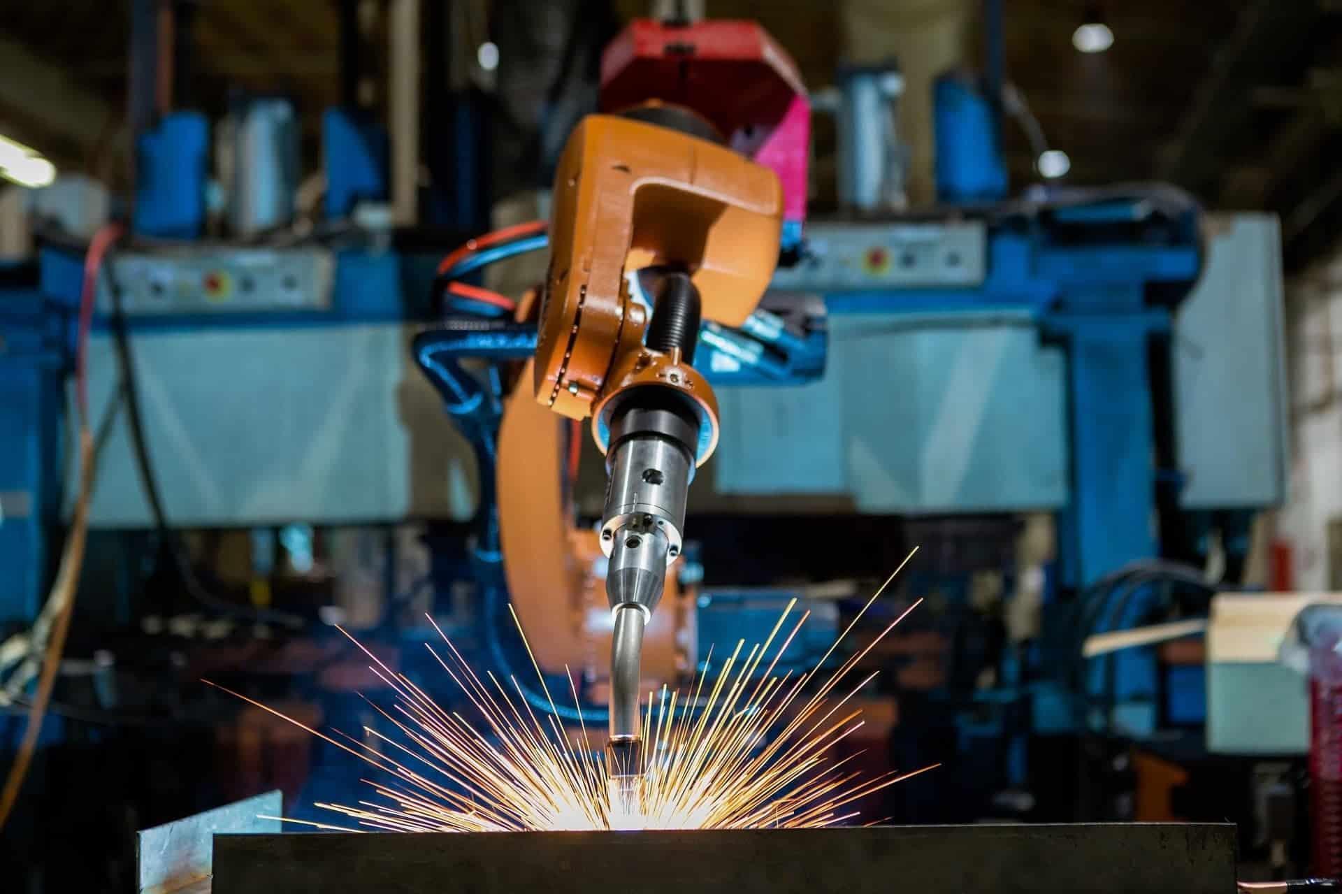 micro-welding process by robotic welding