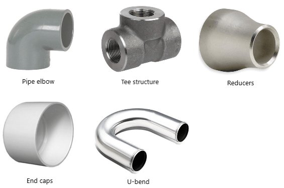 Different types of pipe fittings