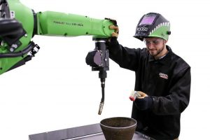 collaborative robots cobots in welding education