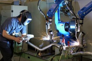 welding training using artificial intelligence AI in welding