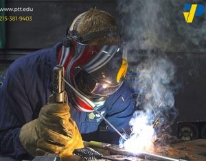 Welding using welding technology