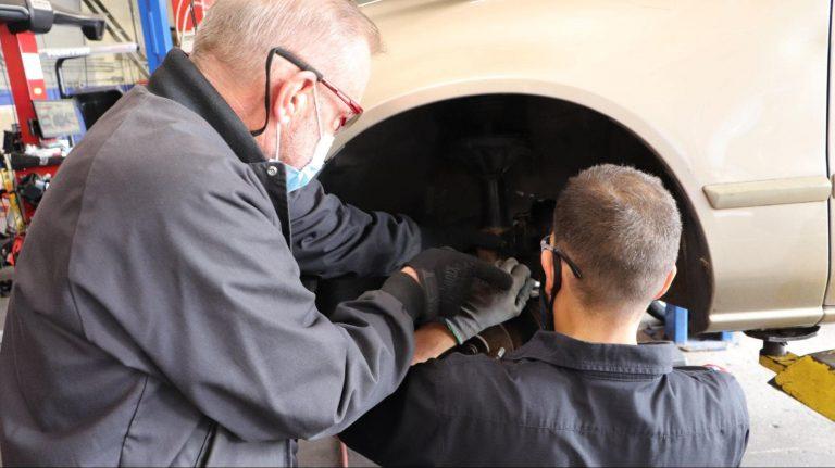 automobile technician training