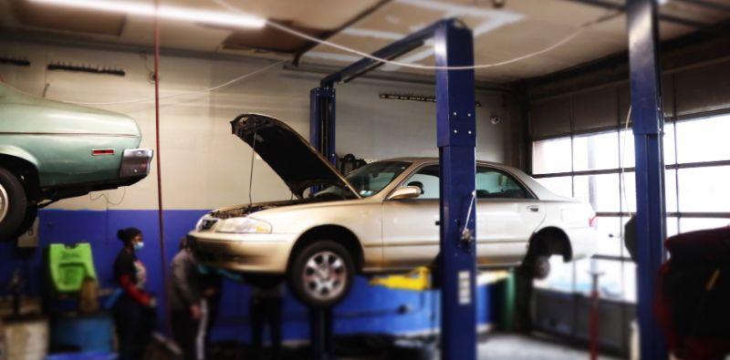 Automotive technician training workshop