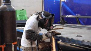Hands-on welding training in welding schools