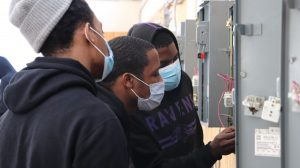Industrial skilled trades training in electrical repair