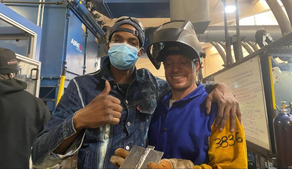 Students in skilled trades programs