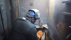 welding technology students train in hands-on welding