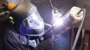 gas metal arc welding in welding training