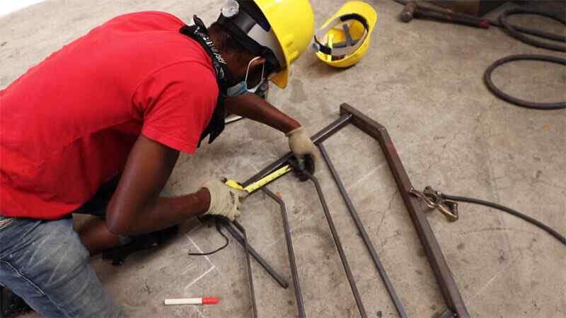 Welding gear in welding program